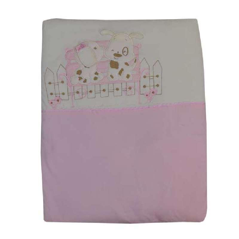 Κουβέρτα Bελουτέ Αγκαλιάς Puppy Bebe Stars home   away   λευκά είδη βρεφικά   βρεφικές κουβέρτες