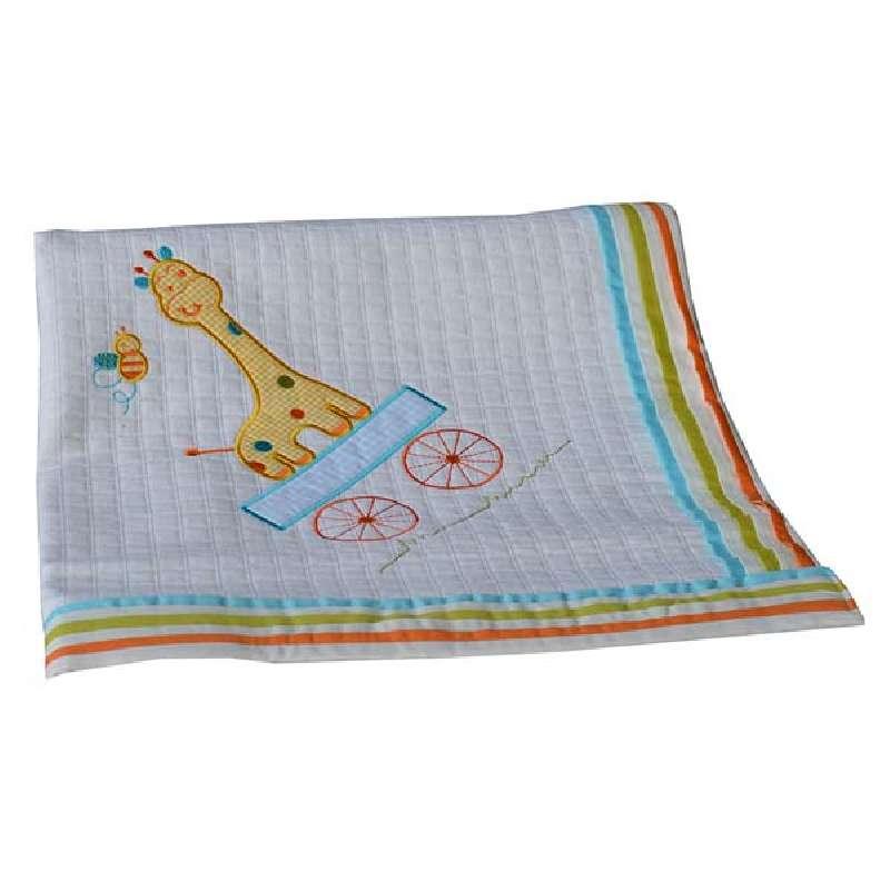 Κουβέρτα Πικέ Αγκαλιάς Safari Bebe Stars home   away   λευκά είδη βρεφικά   βρεφικές κουβέρτες