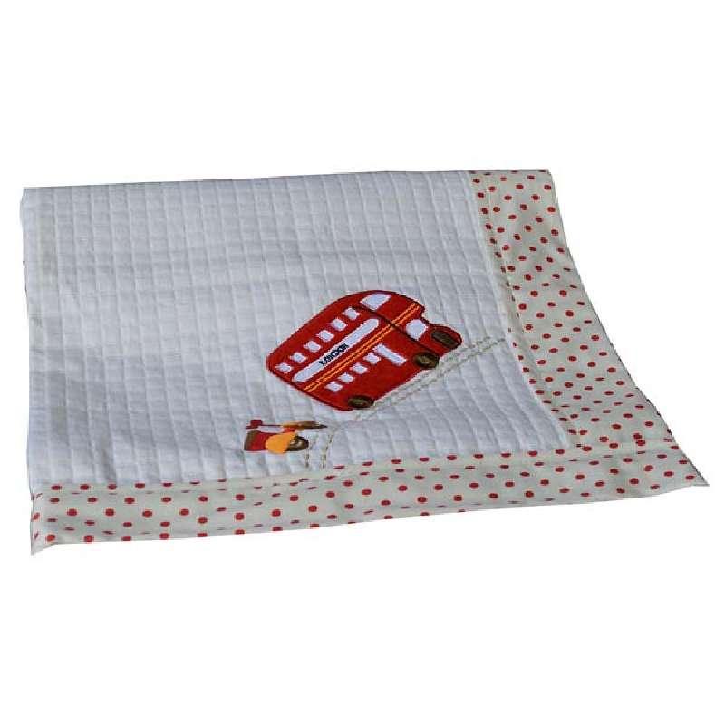 Κουβέρτα Πικέ Αγκαλιάς Happy Τravel Bebe Stars home   away   λευκά είδη βρεφικά   βρεφικές κουβέρτες