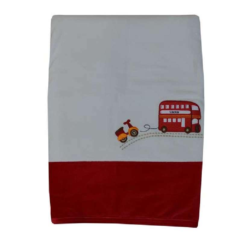 Κουβέρτα Bελουτέ Αγκαλιάς Happy Travel Bebe Stars home   away   λευκά είδη βρεφικά   βρεφικές κουβέρτες