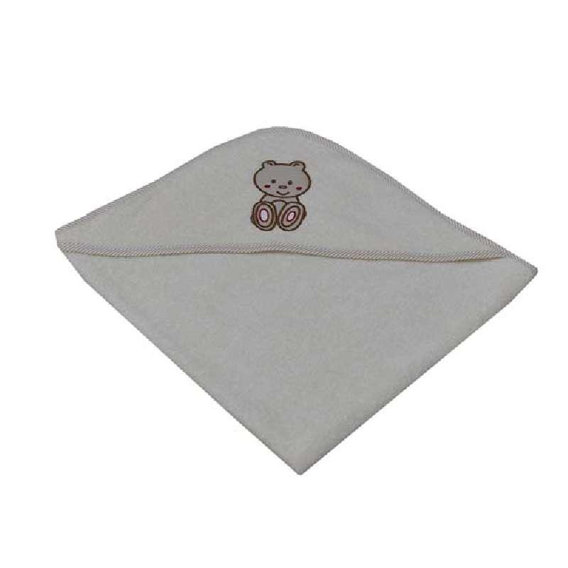 Μπουρνούζι Κάπα Teddy Bear Bebe Stars