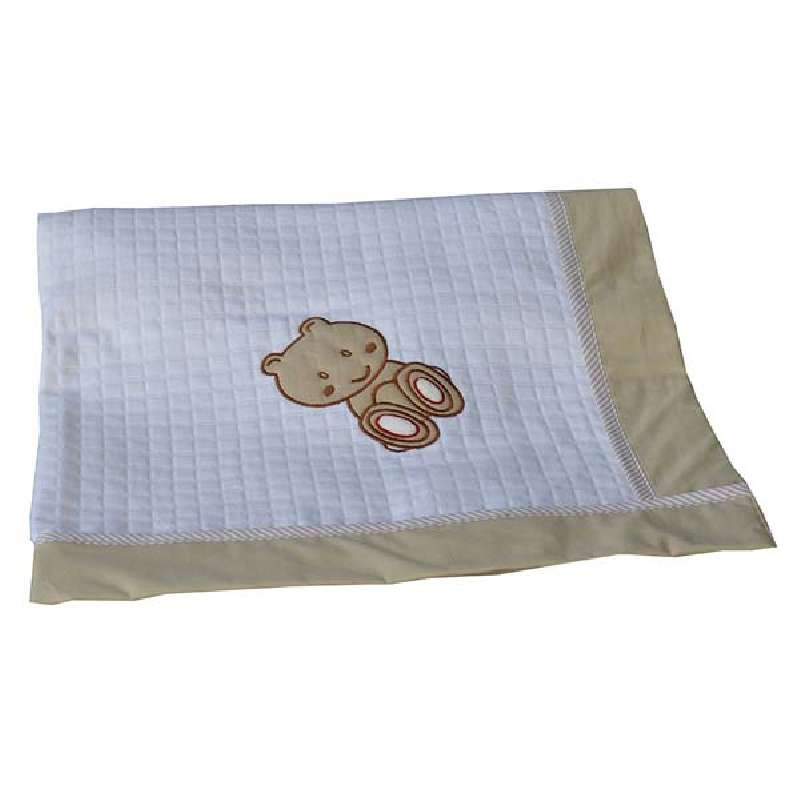 Κουβέρτα Πικέ Αγκαλιάς Teddy Bear Bebe Stars home   away   λευκά είδη   λευκά είδη βρεφικά   κουβέρτες βρεφικές