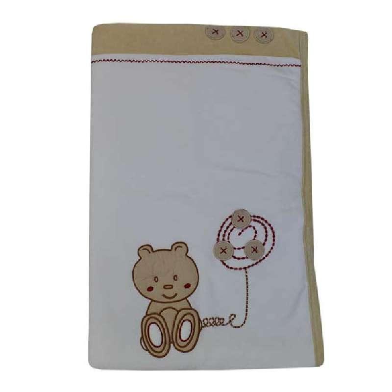 Κουβέρτα Bελουτέ Αγκαλιάς Teddy Bear Bebe Stars