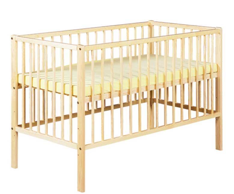 Just Baby Βρεφικό Κρεβάτι Basic Φυσικό 2113N