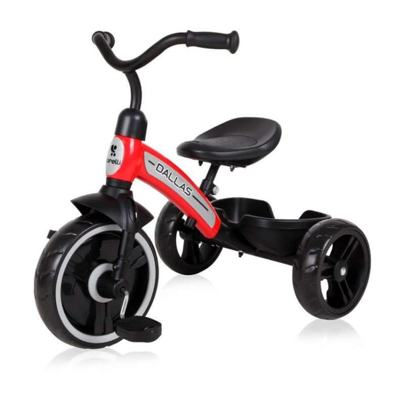 Τρίκυκλο Ποδήλατο Dallas Red Lorelli