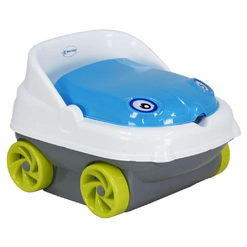 Γιογιό Κάθισμα Musical Car 73-181 Blue Bebe Stars