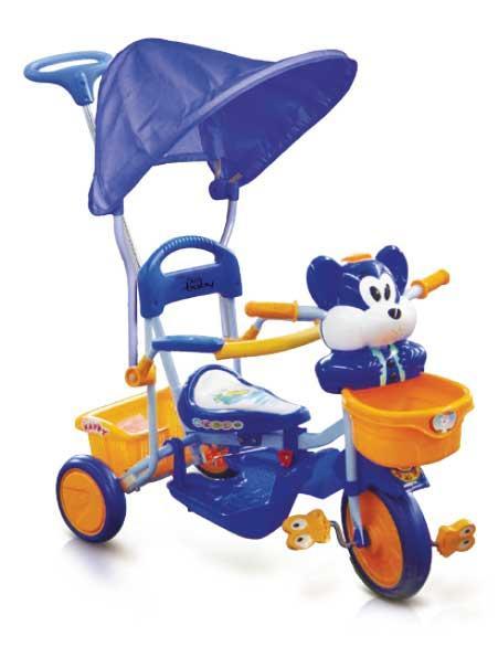 Just Baby Παιδικό ποδηλατάκι Happy Bear Blue JB2330-1 βόλτα   ασφάλεια   ποδήλατα   τρίκυκλα ποδήλατα