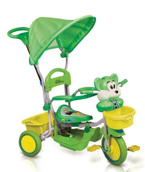 Just Baby Παιδικό ποδηλατάκι Happy Bear Green JB2330-3 βόλτα   ασφάλεια   ποδήλατα   τρίκυκλα ποδήλατα