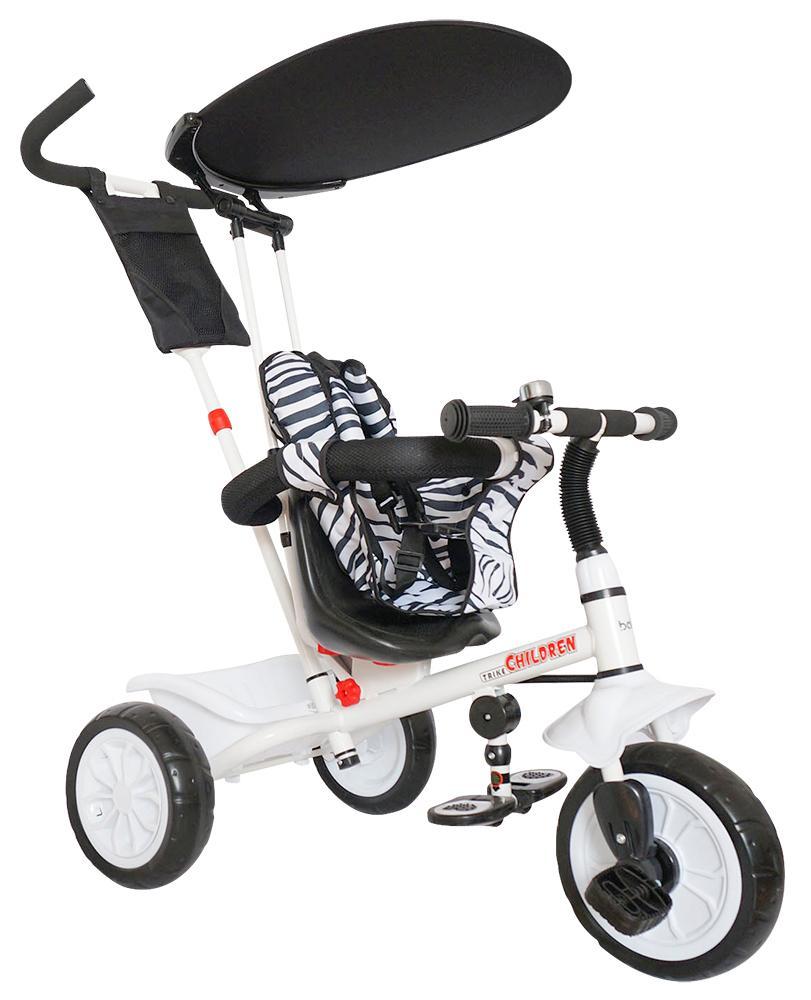 Just Baby Τρίκυκλο ποδηλατάκι Leader 2430 White βόλτα   ασφάλεια   ποδήλατα   τρίκυκλα ποδήλατα