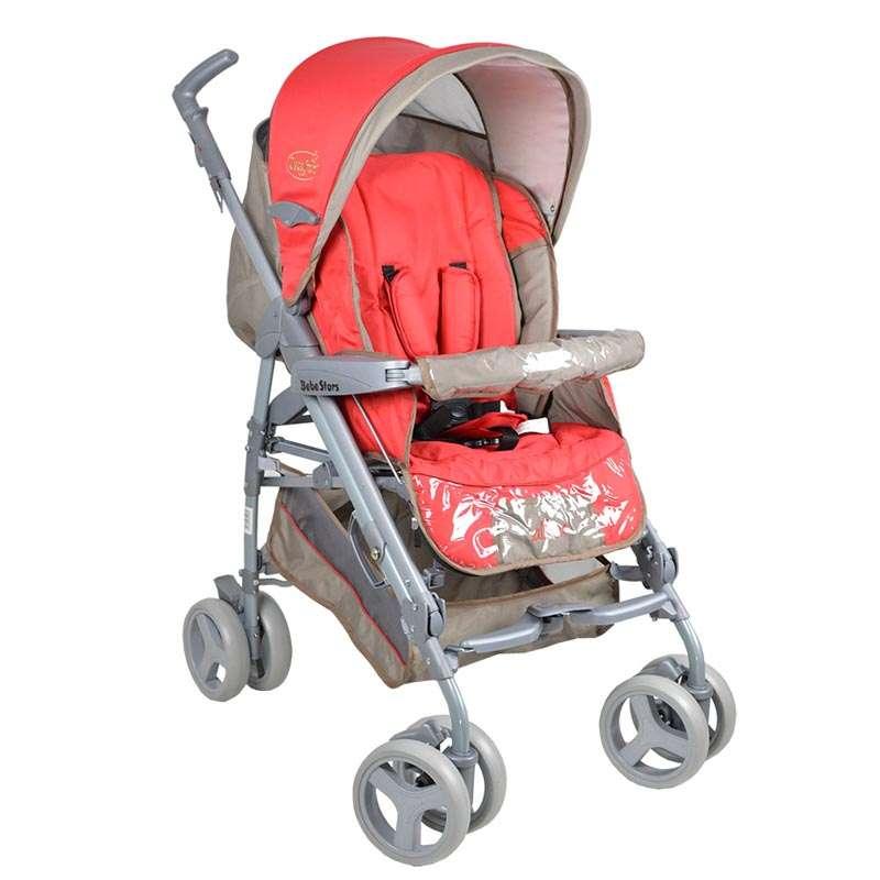 Καρότσι Allea Bebe Stars - Κόκκινο βόλτα   ασφάλεια   μετακινηση με καροτσι   καρότσια βρεφικά