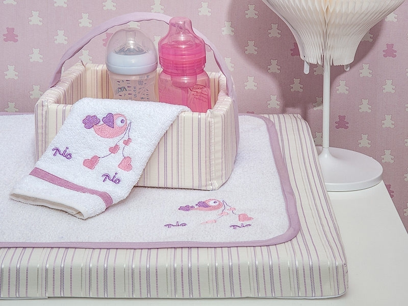Καλάθι Καλλυντικών Baby Oliver Lilac Dream Birds Design 300
