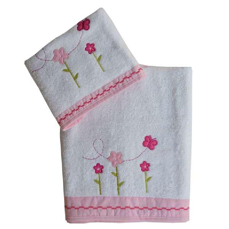 Σετ Πετσέτες Bunny Bebe Stars home   away   λευκά είδη βρεφικά   βρεφικές πετσέτες
