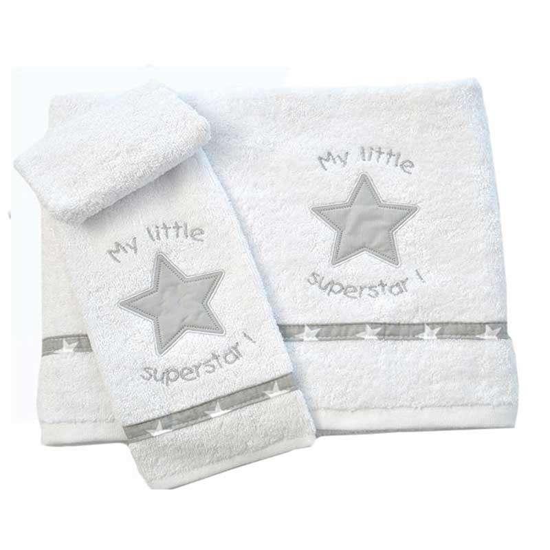 Σετ πετσέτες Βρεφικές My Little Superstar Design 301 Baby Oliver home   away   λευκά είδη βρεφικά   βρεφικές πετσέτες