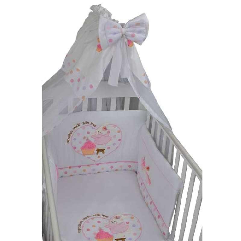 Προίκα Μωρού Cupcake Bebe Stars home   away   λευκά είδη βρεφικά   σέτ προίκας μωρού