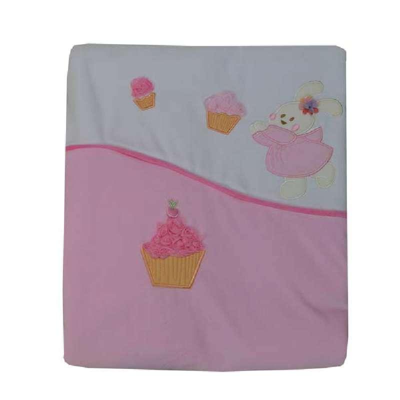 Κουβέρτα Bελουτέ Αγκαλιάς Cupcake Bebe Stars home   away   λευκά είδη βρεφικά   βρεφικές κουβέρτες
