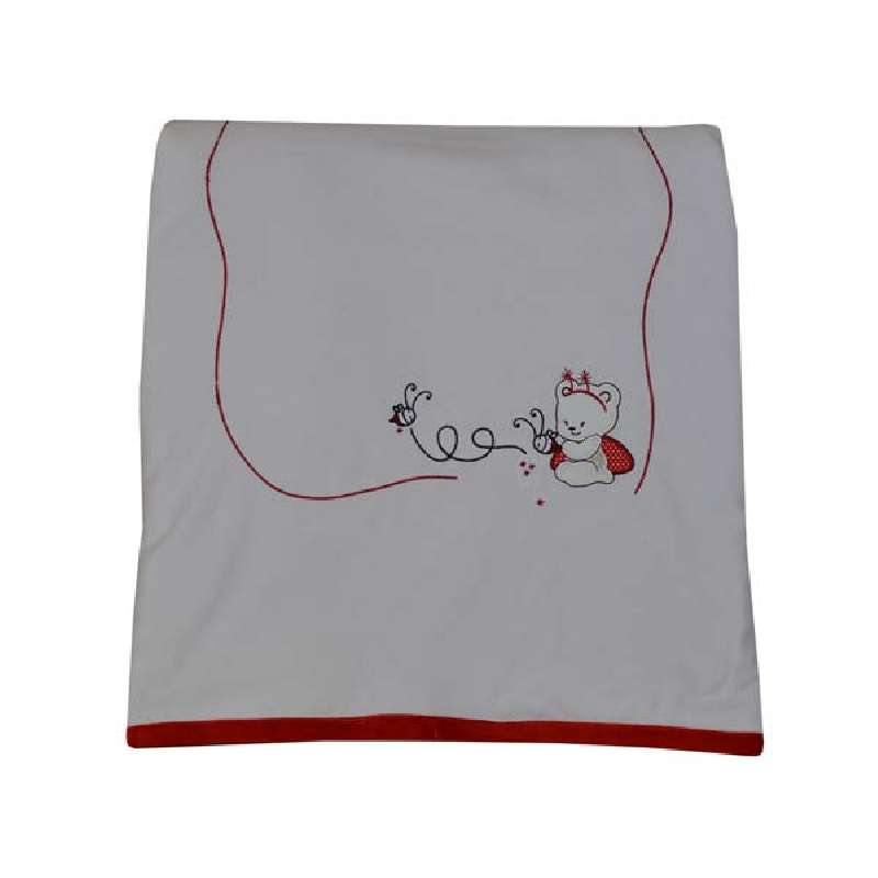 Κουβέρτα Bελουτέ Αγκαλιάς Red Bee Bebe Stars