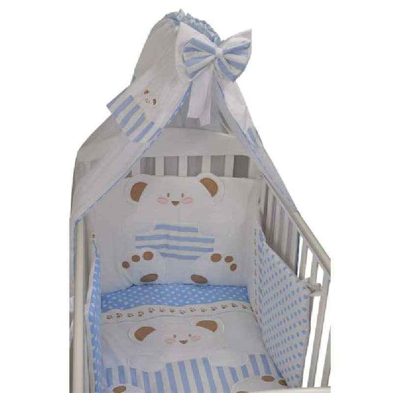 Προίκα Μωρού Stripes Bear Bebe Stars home   away   λευκά είδη   λευκά είδη βρεφικά   σέτ προίκας μωρού