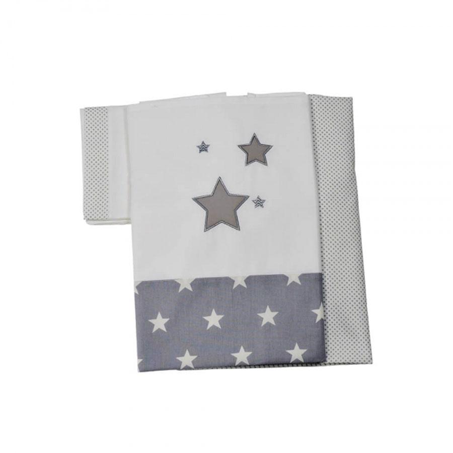 Σετ Σεντόνια 3τεμ. Stars 3071 Bebe Stars
