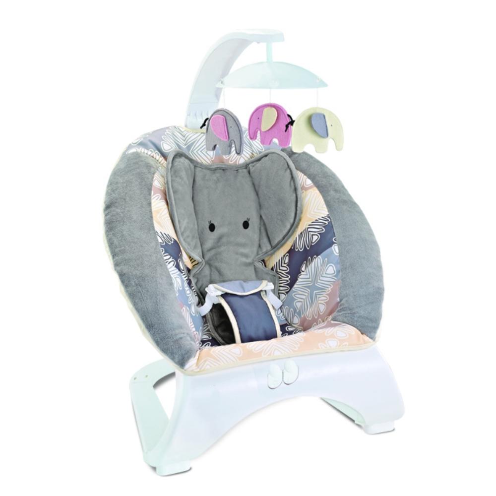 Ρηλάξ Elephant Bebe Stars Grey