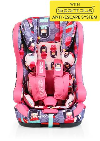 Cosatto Κάθισμα Hubbub ISOFIX - Kokeshi Smile