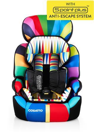 Kάθισμα αυτοκινήτου Zoomi (5 Point Plus) Go Brightly Cosatto
