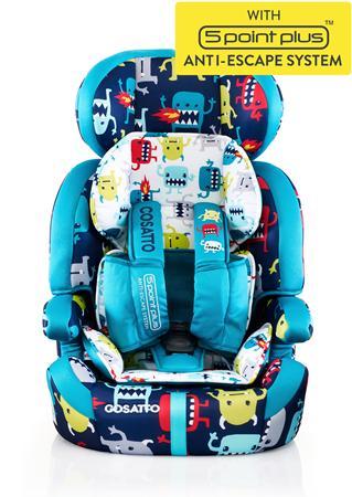 Κάθισμα αυτοκινήτου Zoomi (5 Point Plus) Cuddle Monster Cosatto βόλτα   ασφάλεια   καθίσματα αυτοκινήτου   παιδικά καθίσματα αυτοκινήτου 9 εώς 3