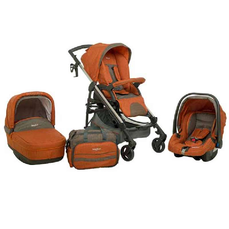 Πολυκαρότσι Caprice 3 in 1 Brown Bebe Stars