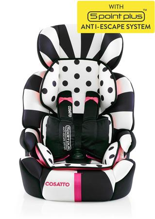 Κάθισμα αυτοκινήτου Zoomi (5 Point Plus) Go Lightly Cosatto
