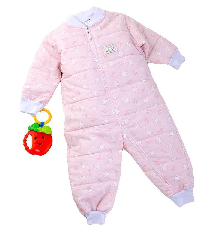 Υπνόφορμα Σχέδιο 38 Ρόζ Baby Oliver home   away   λευκά είδη βρεφικά   υπνόσακοι