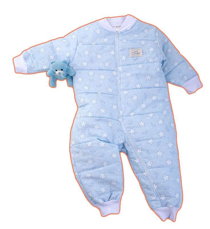 Υπνόφορμα Σχέδιο 39 Μπλέ Baby Oliver Baby Oliver home   away   λευκά είδη βρεφικά   υπνόσακοι