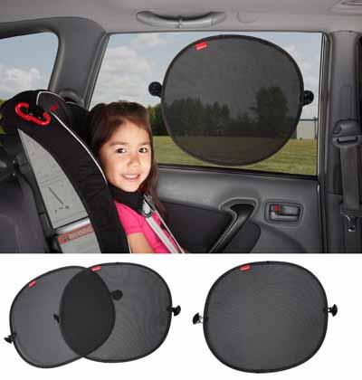 DIONO Sun Stoppers™ σκίαστρο παραθύρων αυτοκινήτου Diono βόλτα   ασφάλεια   καθίσματα αυτοκινήτου   αξεσουάρ για καθίσματα αυτοκινήτου