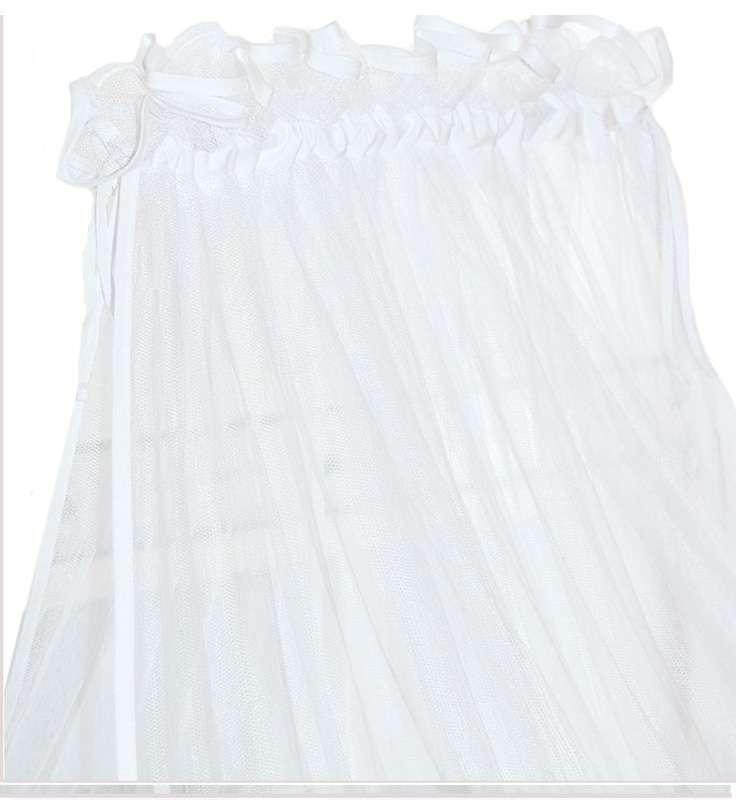 Κουνουπιέρα με Ρέλι Σχέδιο 410 Λευκή Baby Oliver