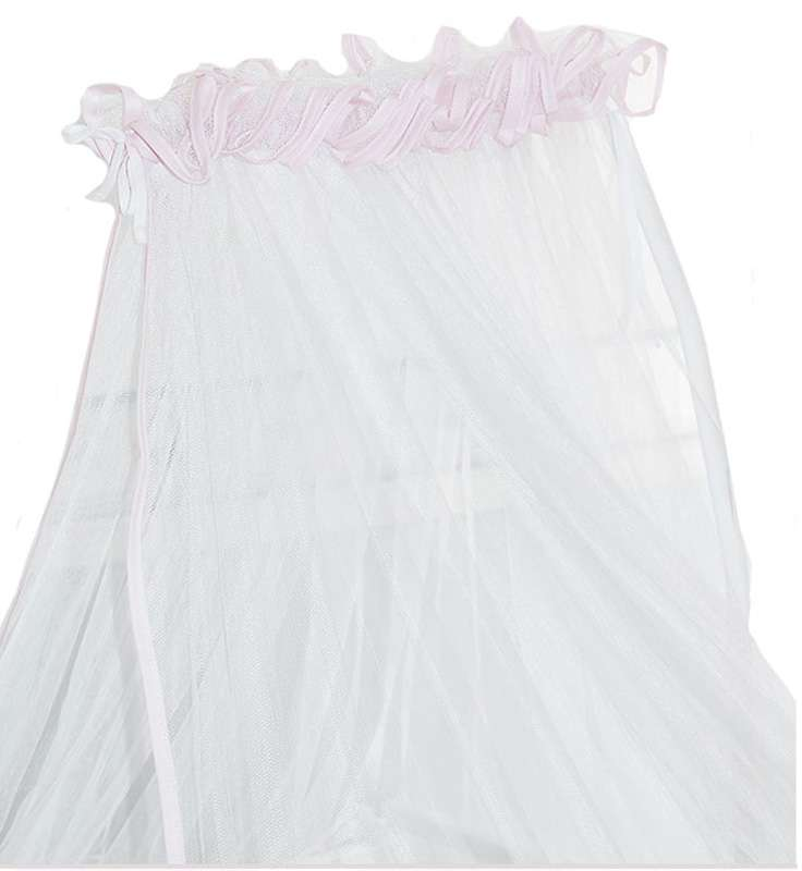 Κουνουπιέρα με Ρέλι Σχέδιο 411 Ρόζ Baby Oliver