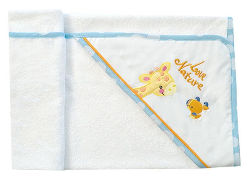 Μπουρνούζι Κάπα Σχέδιο 485 Baby Oliver home   away   λευκά είδη   λευκά είδη βρεφικά   μπουρνούζια βρεφικά