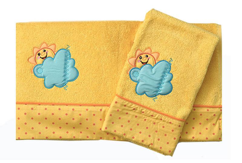 Σετ Πετσέτες Βρεφικές 2 Τεμ Σχέδιο 493 Baby Oliver home   away   λευκά είδη βρεφικά   βρεφικές πετσέτες