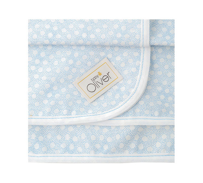 Baby Oliver Πάνες Χασέ Σχέδιο 253 Baby Oliver home   away   λευκά είδη βρεφικά   σελτεδάκια
