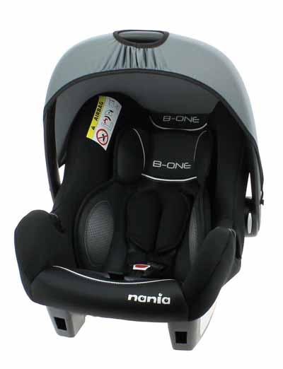 Bebe Stars Beone SP Nania - Graphic Black βόλτα   ασφάλεια   καθίσματα αυτοκινήτου   βρεφικά καθίσματα ασφαλείας αυτοκινήτ