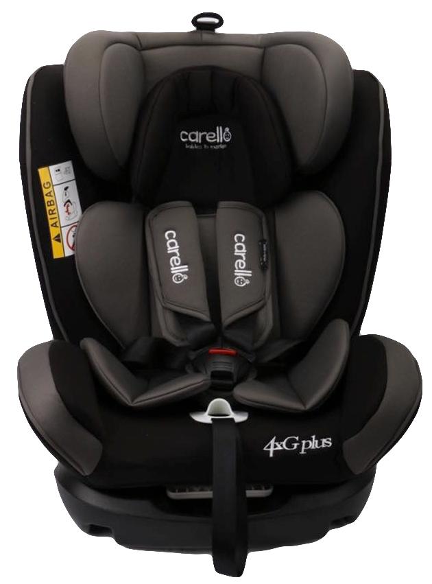 Κάθισμα αυτοκινήτου 4G plus Iso Fix Black Carello