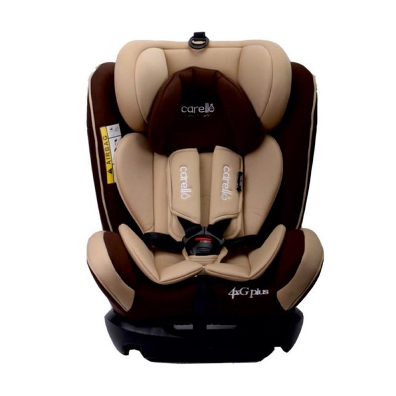 Παιδικό κάθισμα αυτοκινήτου 4G plus Iso Fix Brown Carello
