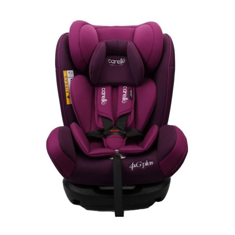 Κάθισμα αυτοκινήτου 4G plus Iso Fix Purple Carello