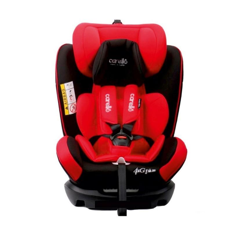 Κάθισμα αυτοκινήτου 4G plus Iso Fix Red Carello