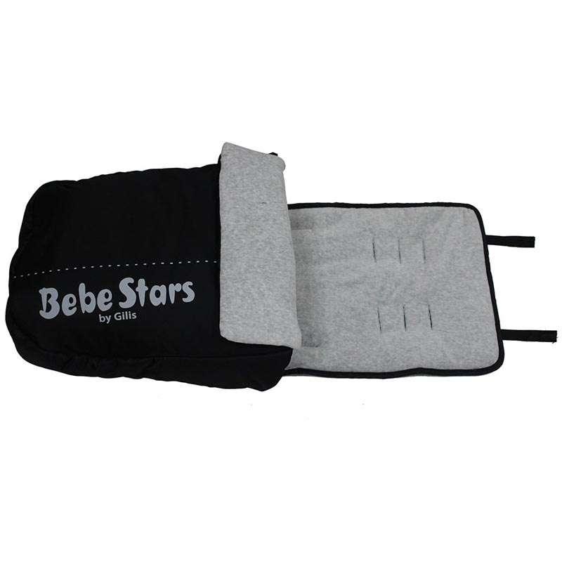 Ποδόσακος Bebe Stars-503-188 βόλτα   ασφάλεια   μετακινηση με καροτσι   καρότσια αξεσουαρ