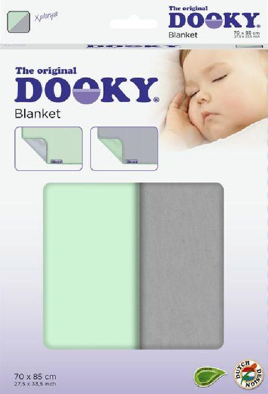 DOOKY Dooky Κουβερτάκι Μωρού Mint/Grey 126520 βόλτα   ασφάλεια   μετακινηση με καροτσι   καρότσια αξεσουαρ