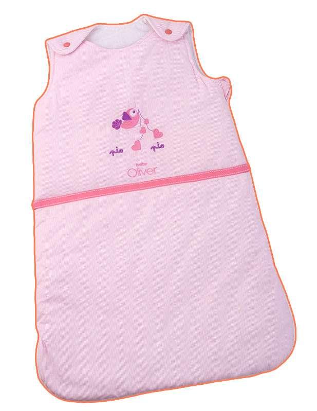 Υπνόσακος Αμάνικος Σχέδιο 50 Ρόζ Baby Oliver