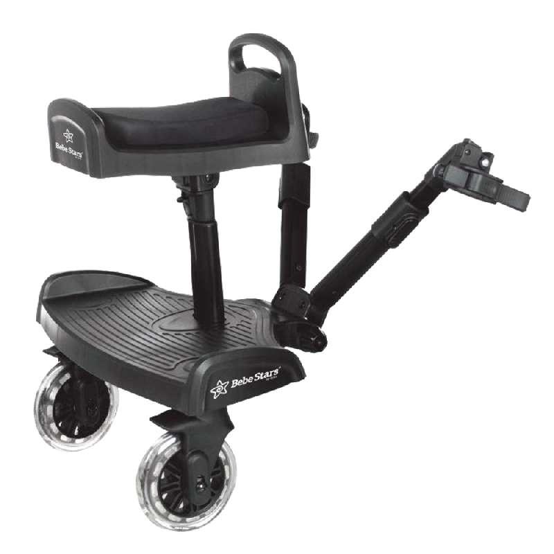 Τρέιλερ για 2ο παιδί με κάθισμα Traction Bebe Stars βόλτα   ασφάλεια   μετακινηση με καροτσι   καρότσια αξεσουαρ