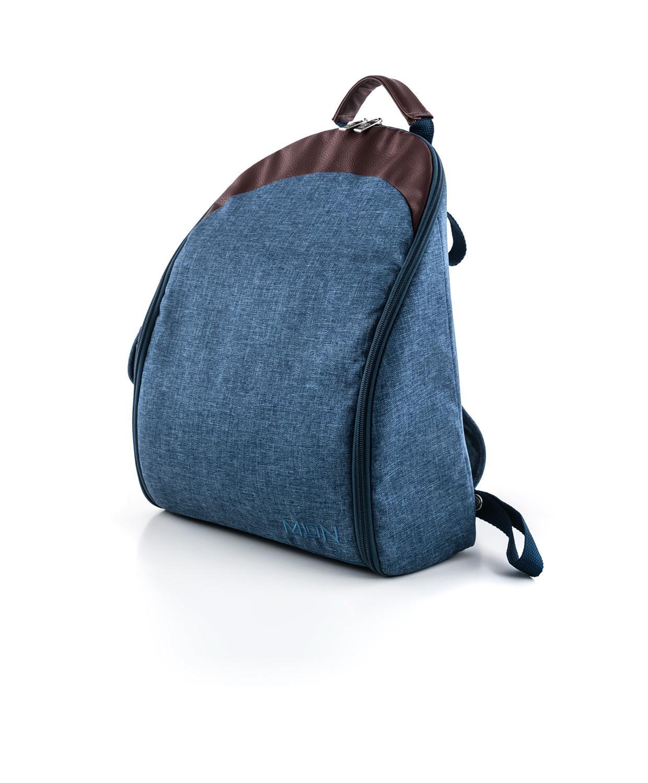 Moon τσάντα αλλαξιέρα Indigo Melange