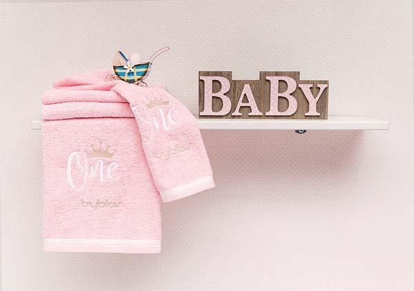 Σετ πετσετών 2τεμ Design 84 Butterfly Byblos home   away   λευκά είδη βρεφικά   βρεφικές πετσέτες