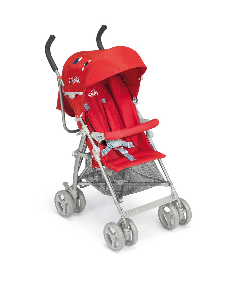 Καρότσι Agile Cam-47 A828-47 βόλτα   ασφάλεια   μετακινηση με καροτσι   παιδικά καρότσια ελαφριού τύπου