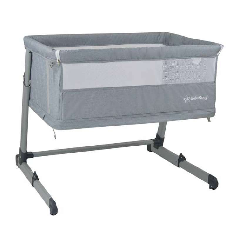 Λίκνο Side to Side Plus 2in1 Grey Bebe Stars
