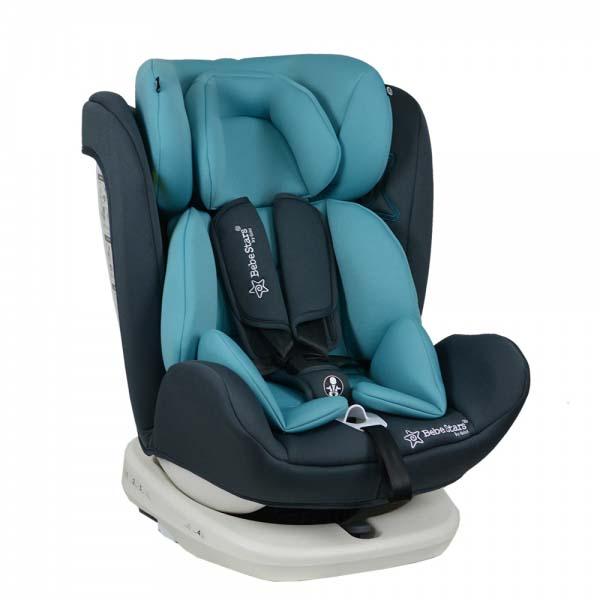 Κάθισμα Αυτοκινήτου Isofix 360° Turcoise Levante Bebe Stars